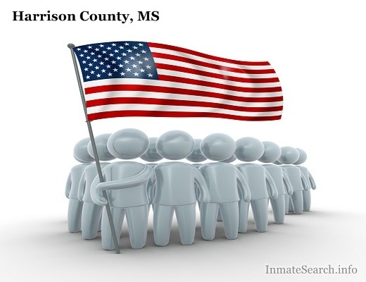Harrison County Jail inmate search in MS